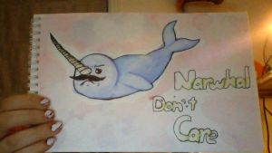 Narwhal Don't CARE by TheDrawingManga
