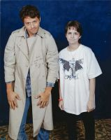 Castiel and Me Photo Op by ChaseYoungIsMine