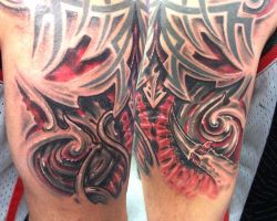 tribal twist by tattooneos