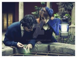 Doctor Who Photoshoot 5: Looking for mistery by Ligechan