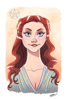 MARGAERY TYRELL by GrievousGeneral
