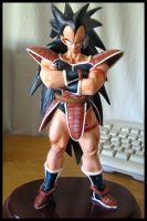 Raditz' sculture--- painted by Ameban