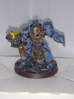 Space Wolf Guard Terminator by javss