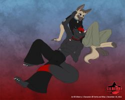 Commission: Verlis and Riley by Silberry