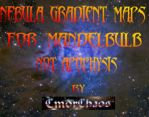 nebula gradient Maps for MB3D (not for Apophysis) by CmdrChaos
