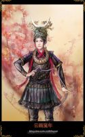 Chinese painting - minorities by hiliuyun