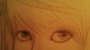 Eyes sketch by Ritunes