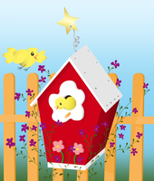 Bird House colored by aaherregud