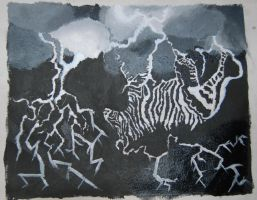Zebra lightning project by minikinney