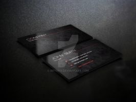 Cloaked Business Card Design by bry5012