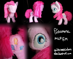 MLP: FiM- Pinkamena (Reworked) by shillermetimbers