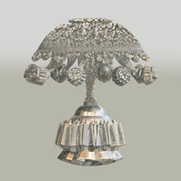 Antique Silver Lamp by Tate27kh