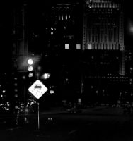 the street of Chicago by CocoaDesert