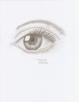 Realistic Eye Attempt by Franchy95