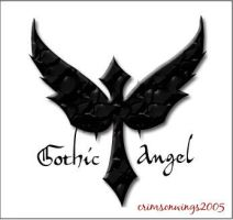Gothic Angel by Crimson-Wings