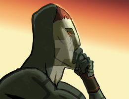 Contemplating Zant by Gingerscoffee
