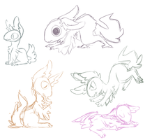 look at these doodles that u can ignore by STARB0MB