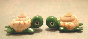 Save the Gulf Turtle Figurines by SweetButEvil