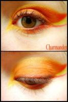 Pokemon Makeup: Charmander by Steffmiesterx13