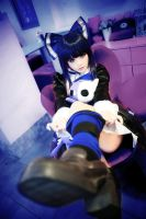 Stocking with Garterbelt_07 by bertcham