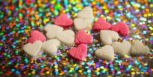 colorful hearts by xexaplex