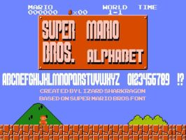 Super Mario Bros Alphabet by TheSharkMaster