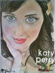 Katy Perry - Desenho-Drawing by BeatrizLoveMyJesus