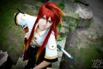 Tales of the Abyss: Smug Luke5 by LiquidCocaine-Photos
