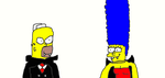 Homer and Marge Vampires by Simpsonsfanatic33