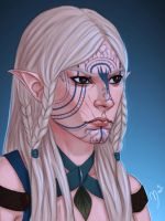 Osiss Lavellan by Merwild
