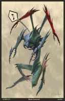Biped Insectoid by zimfin