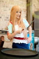 Asuna Cooking Outfit SAO Cosplay #2 by firecloak