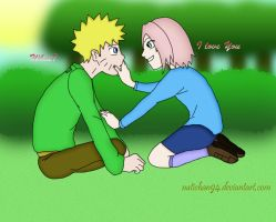Narusaku - I love You... by natichan94
