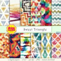 Tribal Digital Paper Pack dsg030 by daisyanderson