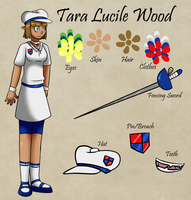 Tara Lucile Wood by Atlanta-Hammy