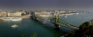Bridges of Budapest by F1L1P