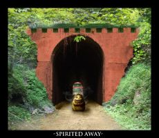 Spirited Away: The Tunnel by shade01