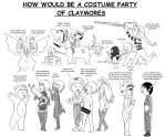 How is a Claymoe Costume Party by Awa303