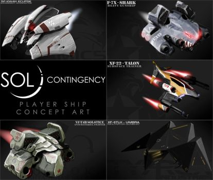 Sol Contingency Player Ship Concepts - Posted by 1DeViLiShDuDe