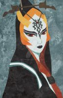 Faux-Paint Midna by ever-so-excited