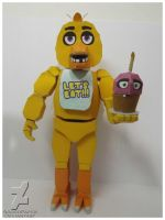 five nights at freddy's chica Papercraft by Adogopaper