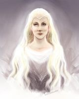Galadriel, the Lady of Light by kaetiegaard