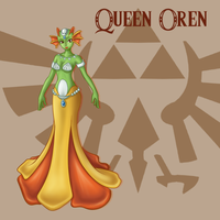 Project LoZ- Queen Oren (LBW) by CookiiMii