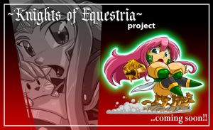 Mlp KNIGHTS OF EQUESTRIA : FLUTTERSHY teaser by ShoNuff44