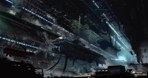 Strike vector hangar by paooo