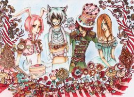 Alice in Candyland by Rina-Li