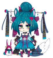 Adopt 21 Colored by Erickiwi-adopts