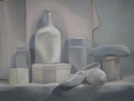 Still Life - White by elvenvision