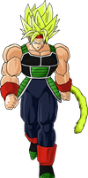 LSSJ Bardock by BubbaZ85