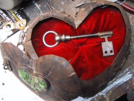 Heart   'open' by BrooklynMachineWorks
